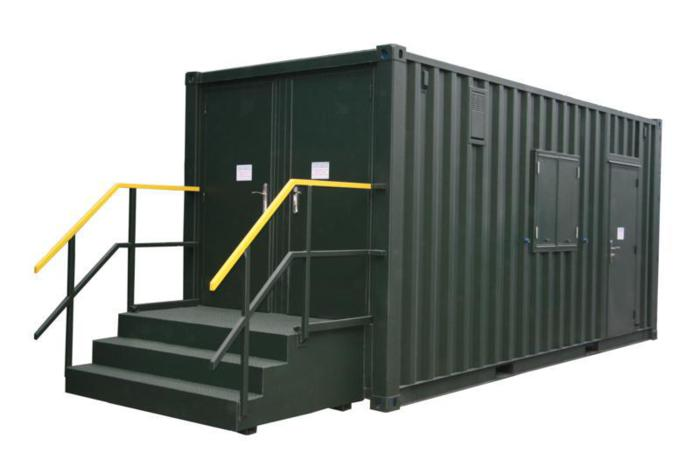 Container toilets smart kids for Shipping container public bathroom